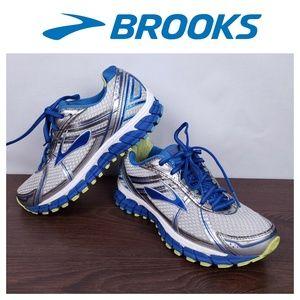 Brooks Womens Adrenaline GTS-15 Blue Sz 8 Shoes
